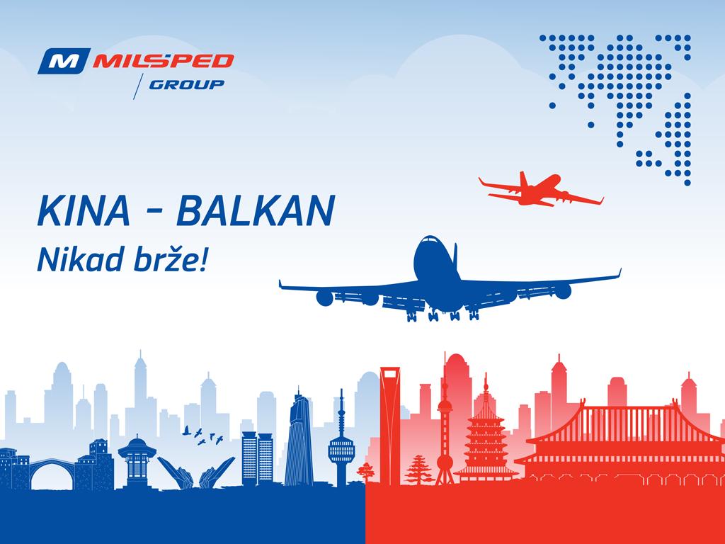 Milšped Grupa uvela redovni kargo čarter leti iz kineskog grada Čangša do Beograda
