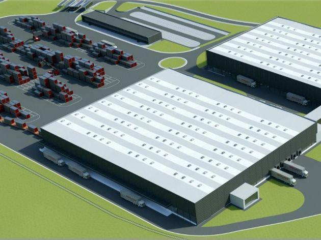 Novi MBOX intermodalni terminal u Nišu počeo sa radom - Buduće novo čvorište kontejnerskog i intermodalnog transporta