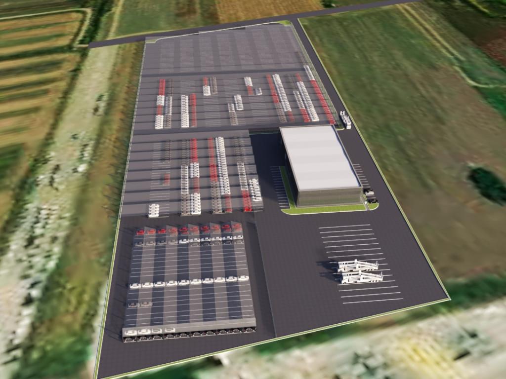 Milšped gradi novi poslovno-servisni centar - Na 5ha u Staroj Pazovi niče kompleks vredan 3,5 mil EUR