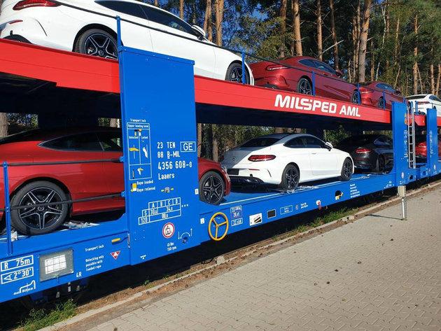 Transport vozila železnicom - Efikasnija logistika povezivanjem procesa