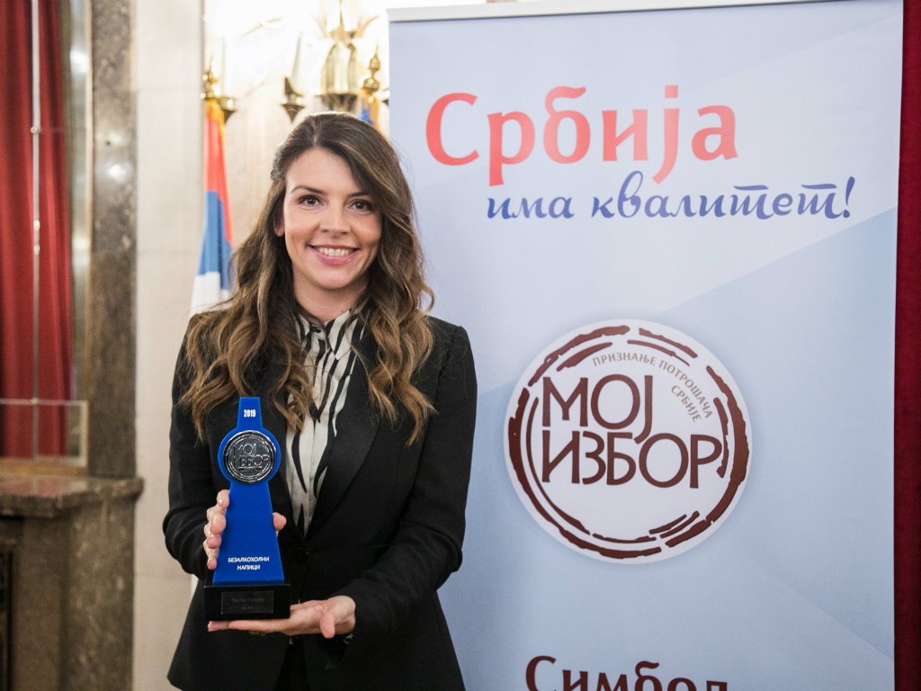 """Nectar Family proglašen najomiljenijim brendom u Srbiji u okviru kampanje """"Moj izbor 2019."""""""