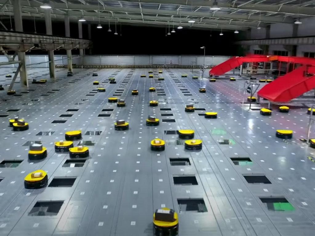 LiBiao Robot ulazi na evropsko trzište - Mini roboti za sortiranje u distributivnim centrima obrađuju 20.000 paketa na sat