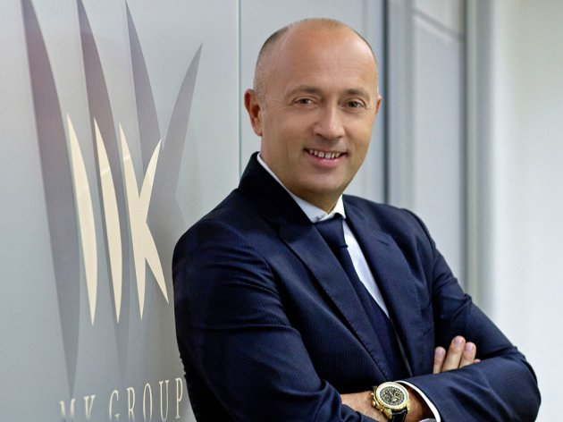 Miodrag Kostic, the president of MK Group