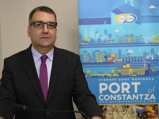 Vladan Misic, Vertreter des Hafens von Constanta in Serbien