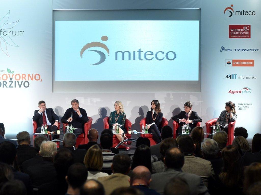 Zelena industrija za siguran evropski put Srbije - Održan peti Međunarodni Miteco Forum