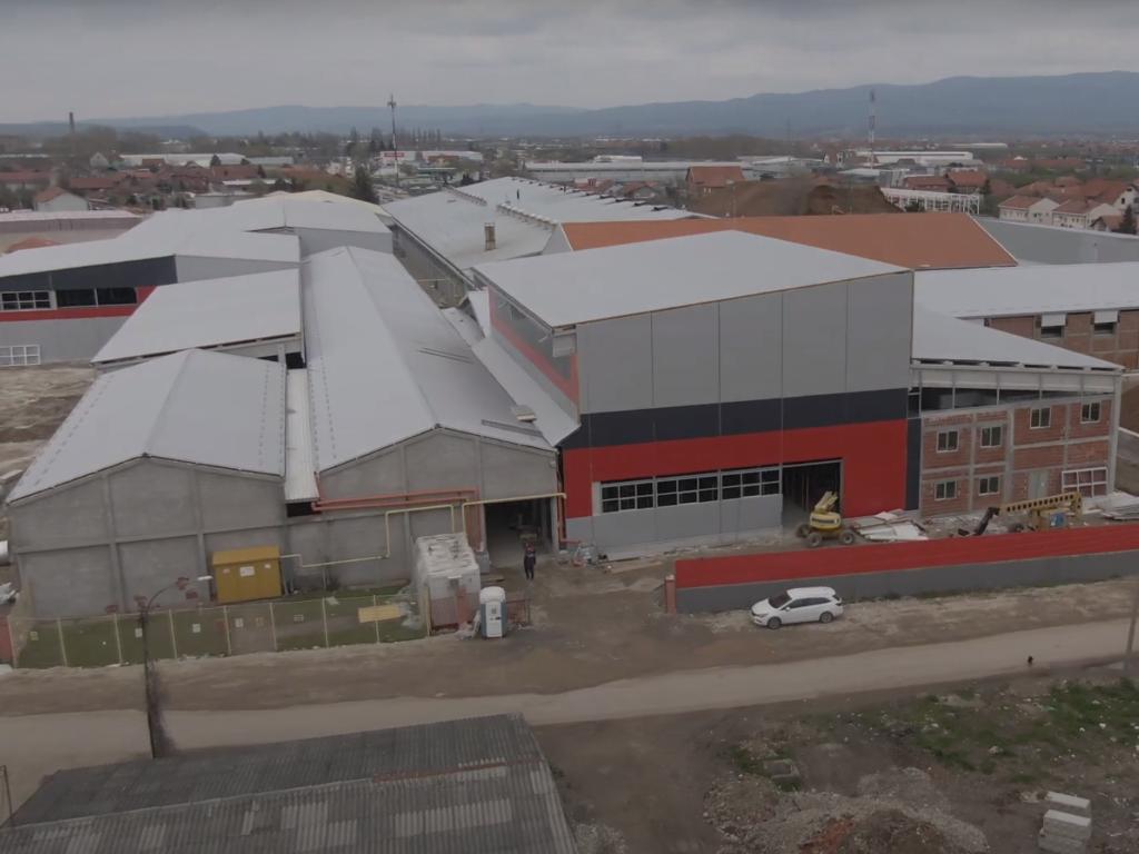Kompanija Mladost ulaže 30 mil EUR u novi pogon za proizvodnju crepa u Leskovcu - Posao za 50 radnika