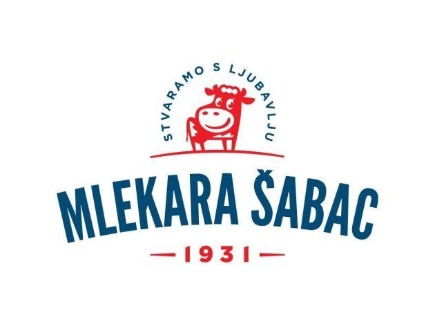 """Mlekara Šabac ima novi logo kojim potrošačima poručuje """"Stvaramo s ljubavlju od 1931. godine"""""""