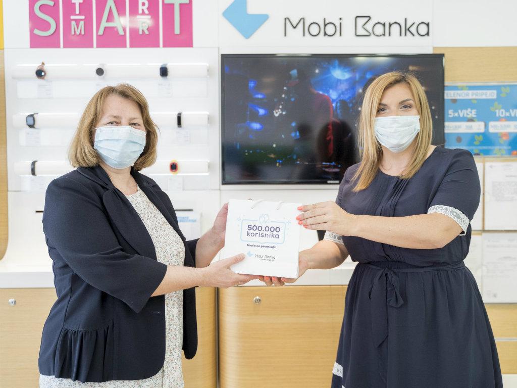 Mobi Banka - Pola miliona korisnika u šestoj godini poslovanja