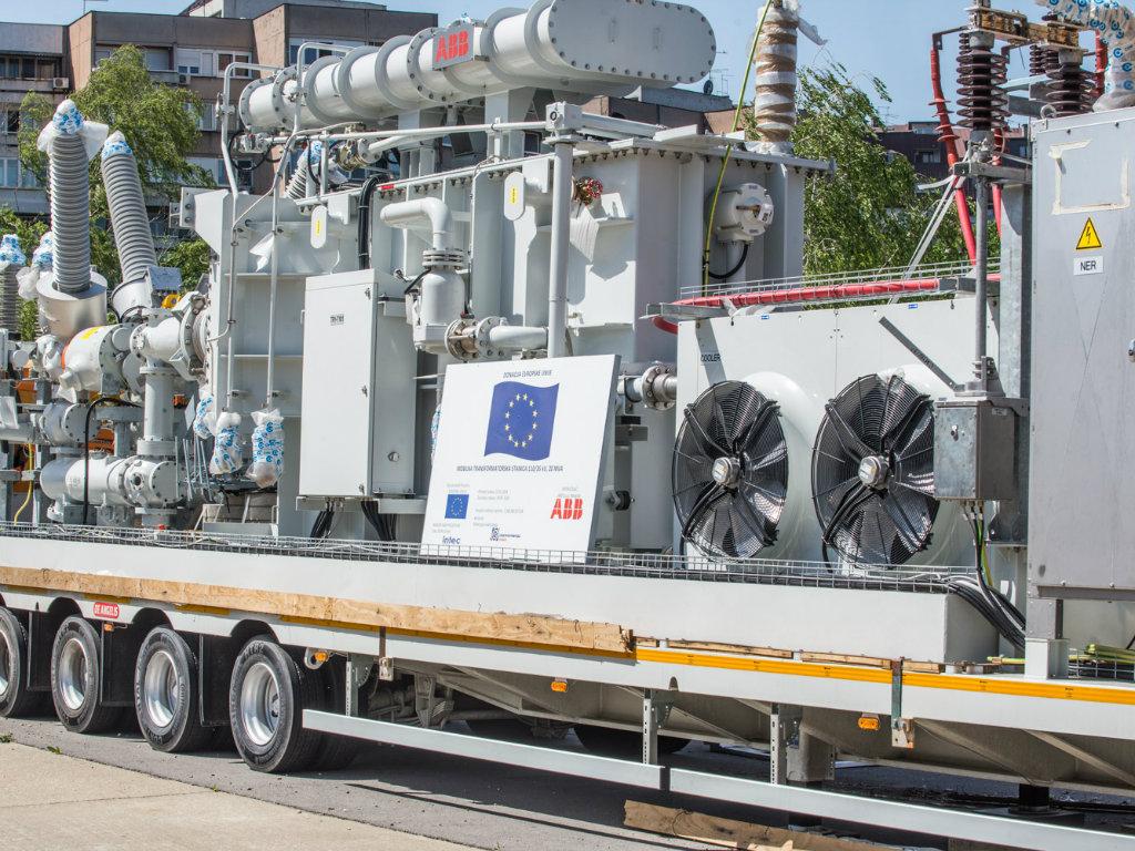 EPS od Evropske unije dobio četiri trafostanice vredne 3,2 mil EUR