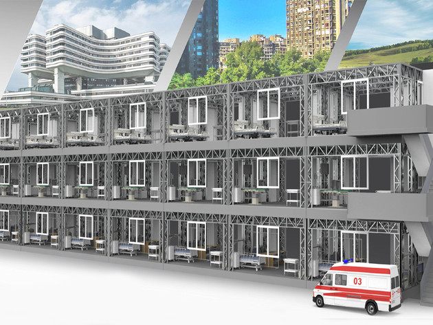 Innovative Modular Hospital – Domestic Company's Product Solves Problem of Accommodation Capacities in Health Institutions