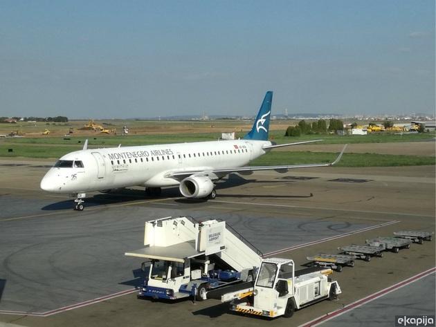 Na crnogorskim aerodromima počinje zimski red letenja - Montenegro Airlines uspostavlja liniju od Podgorice do Kijeva