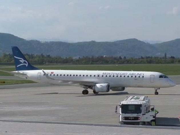 Montenegro Airlines prevezao 10 puta manje putnika u odnosu na jul prošle godine