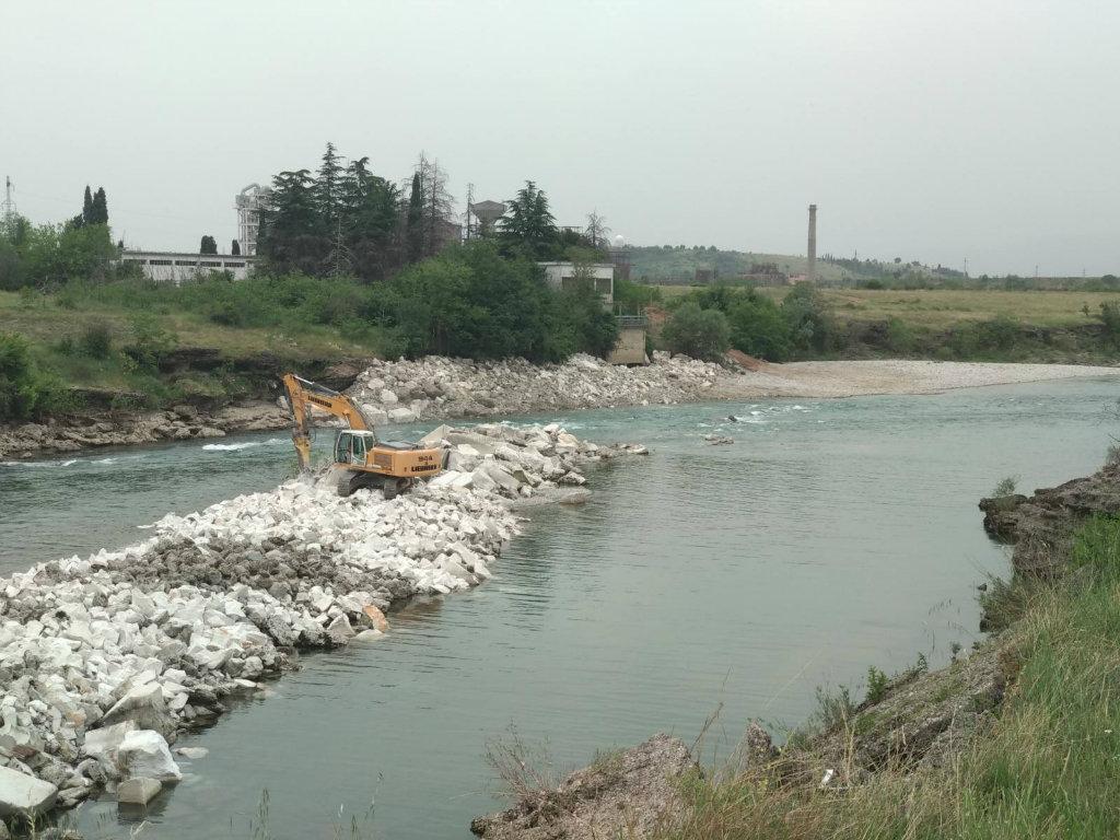 Uklonjena vještačka pregrada na Morači - Obezbijeđena prirodna protočnost i nesmetana migracija ribe