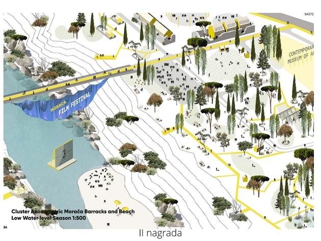 Odabrana najbolja idejna rješenja za uređenje korita i obala rijeke Morače