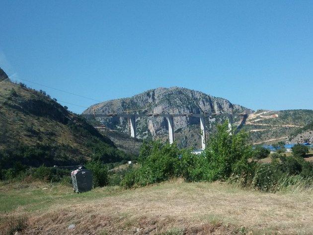 Završeno više od 80% građevinskih radova na dionici Podgorica-Kolašin budućeg autoputa od Bara do Boljara