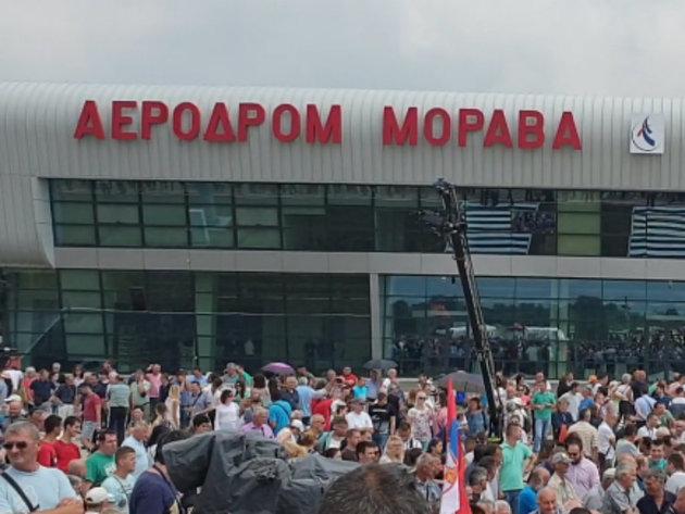Za investicije na aerodromu Morava 155 miliona iz budžeta