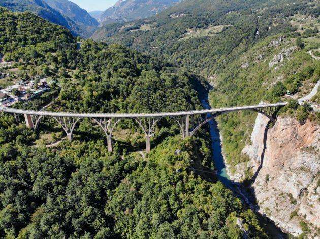 Most na Đurđevića Tari bezbjedan uprkos oštećenjima - Kina donirala 7,05 mil EUR za rekonstrukciju, u toku izrada glavnog projekta