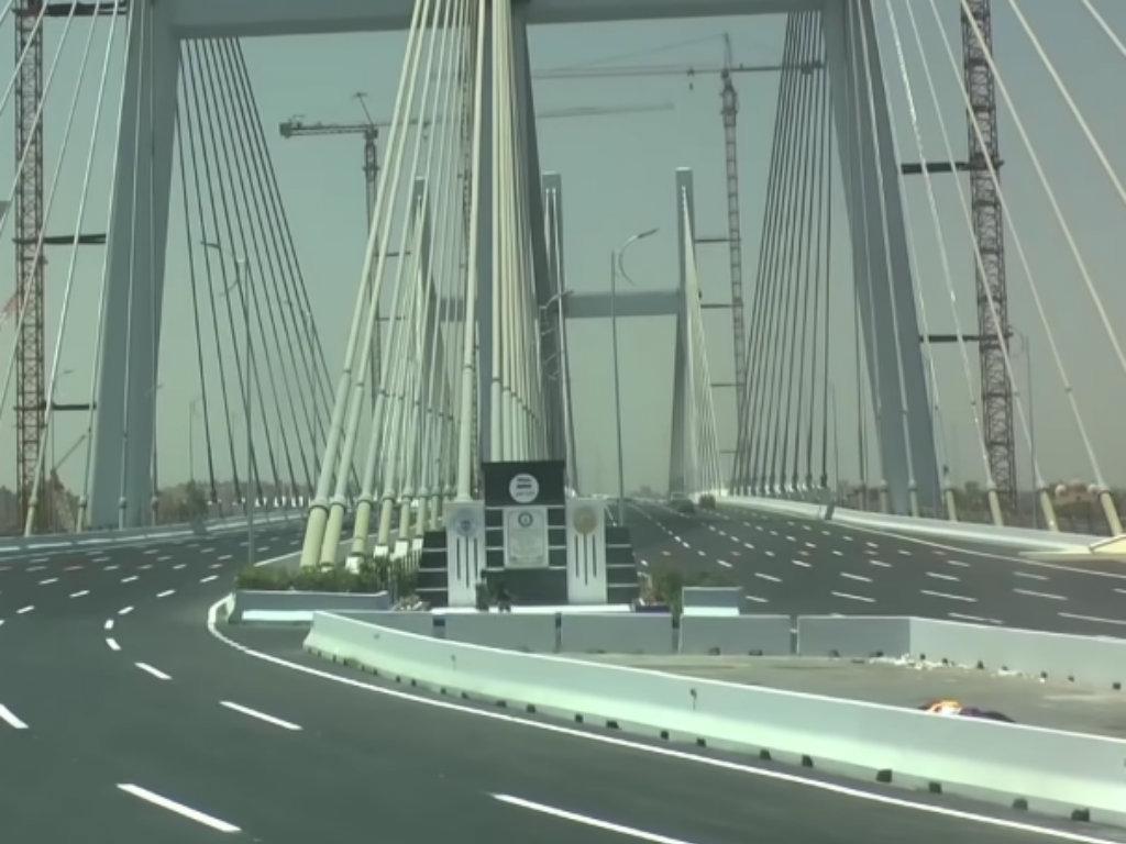 Egipat ima najširi viseći most na svetu (VIDEO)