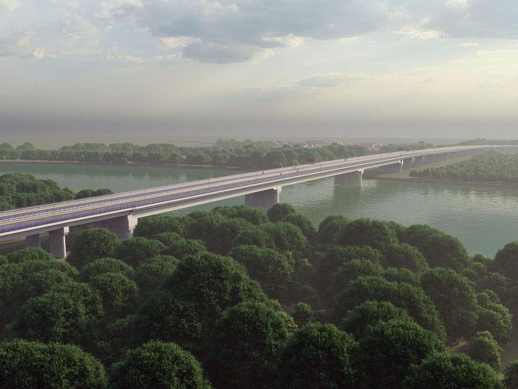 Ovako će izgledati most preko Save na autoputu Kuzmin-Sremska Rača (FOTO,VIDEO)