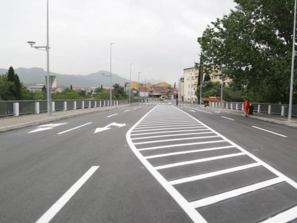 Završena rekonstrukcija mosta na Ribnici i dijela Ulice V proleterske brigade - Investicija vrijedna 150.000 EUR