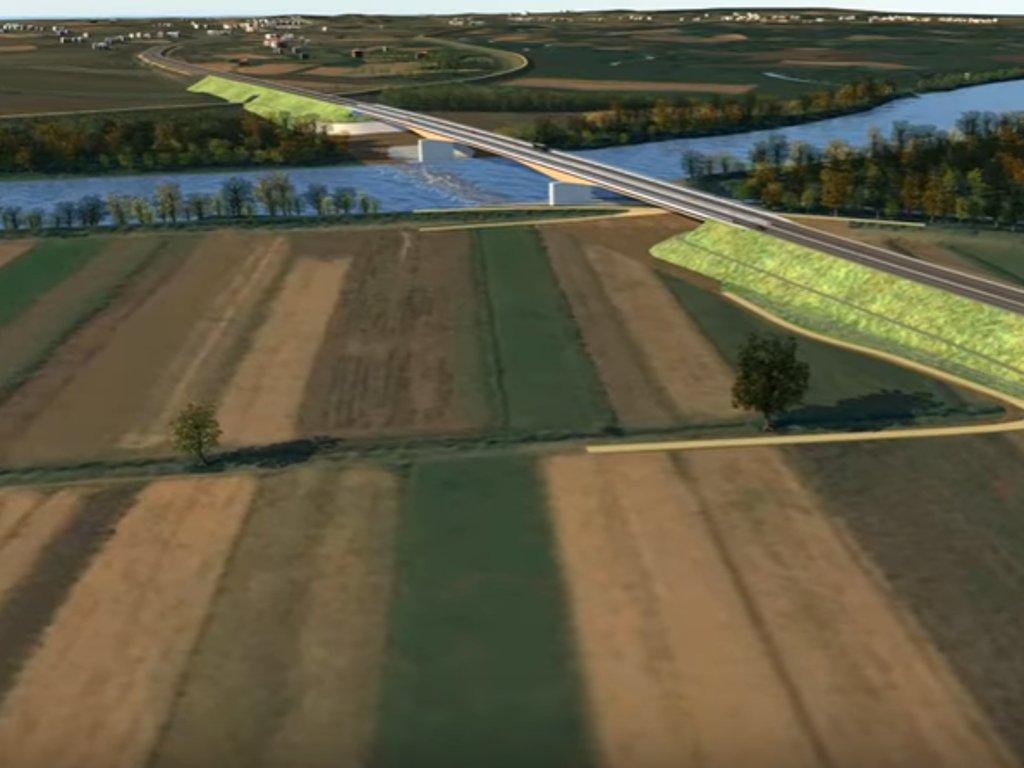 Počela gradnja mosta na Savi kod Gradiške - Kraj radova predviđen u drugoj polovini 2022.