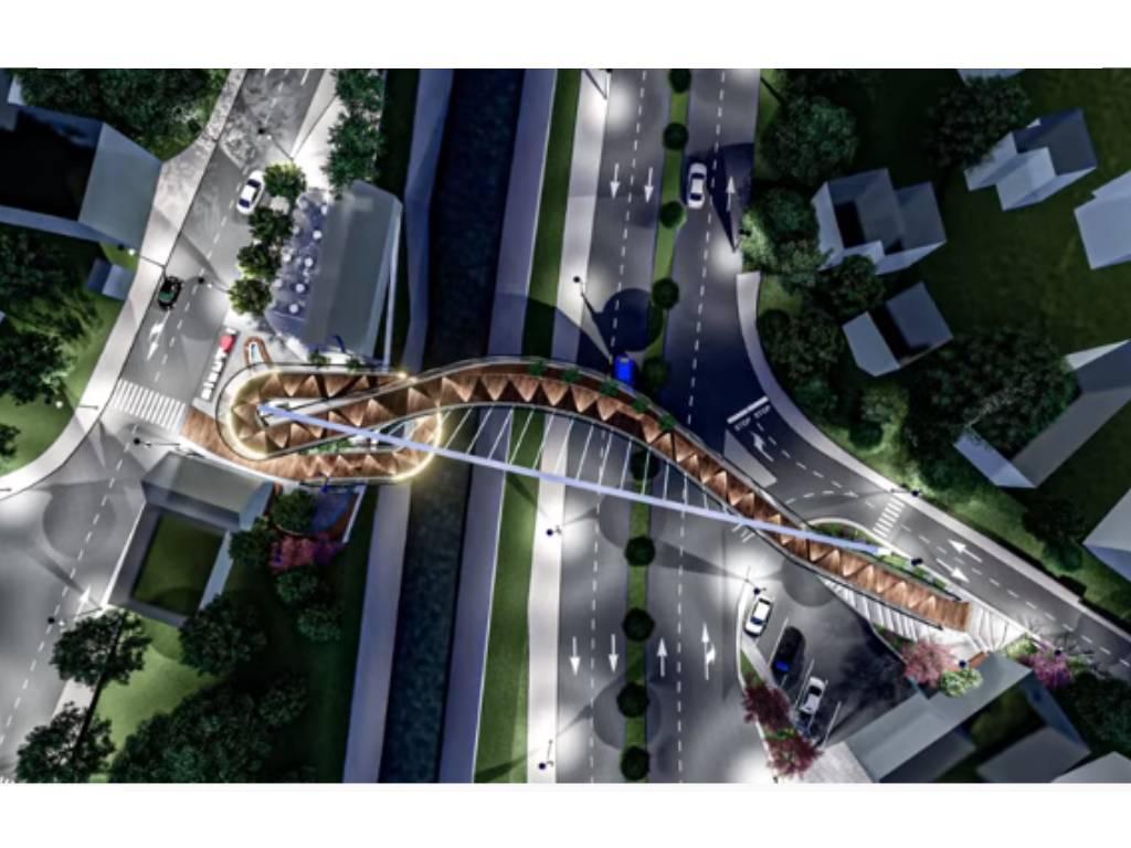 Dašak savremene arhitekture za atraktivniju Tuzlu - Grad na poklon dobio idejno rješenje novog pješačkog mosta Sloboda (FOTO)