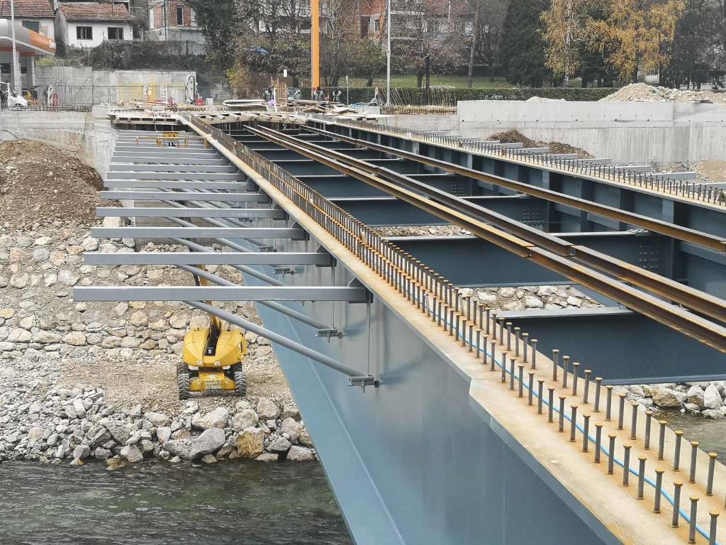 U toku završni radovi na novom mostu u banjalučkim Toplicama