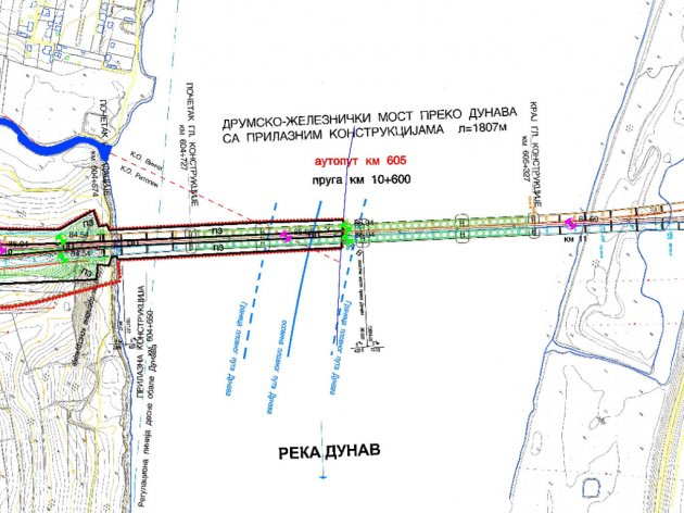 Izgradnja obilaznice sa mostom kod Vinče koštaće 470 mil EUR