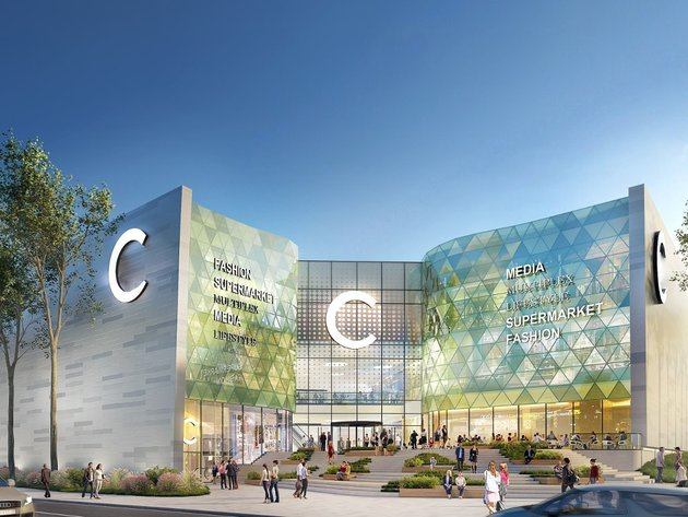 Future look of the shopping center
