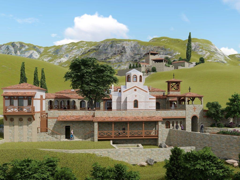 Kreću radovi prve faze na budućem duhovnom centru u Mrkonjićima kod Trebinja
