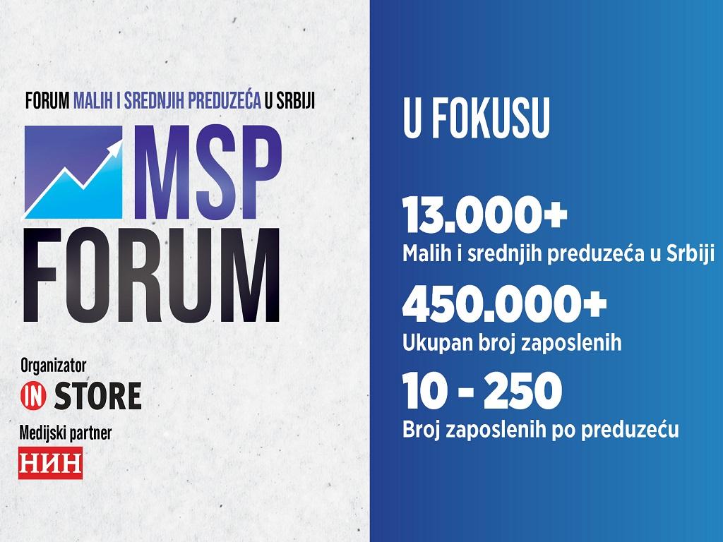 MSP Forum 30. i 31. marta u Beogradu - Pandemija najviše pogodila mala i srednja preduzeća, država spremila novi paket pomoći