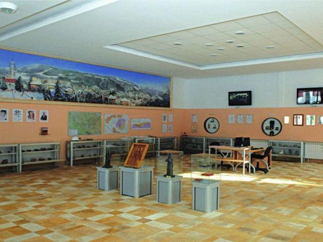 Muzej rudarstva- unutrašnja postavka