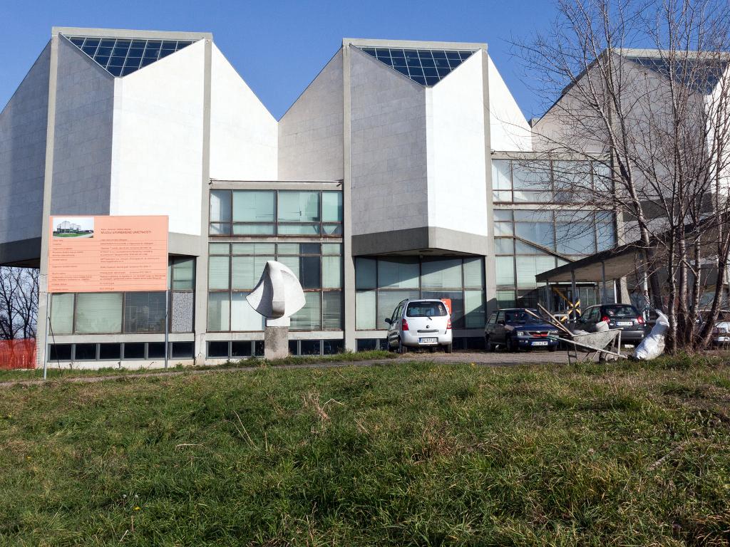 Obimni građevinski radovi na rekonstrukciji Muzeja savremene umetnosti - Otvaranje za posetioce od 2018.