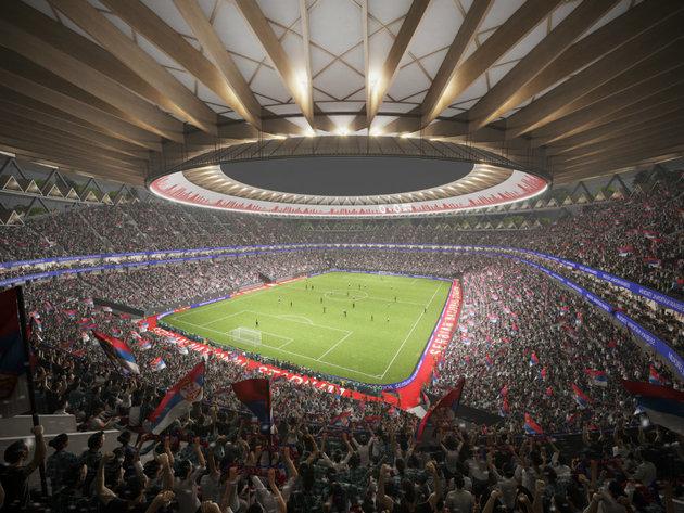 Izgled nacionalnog stadiona