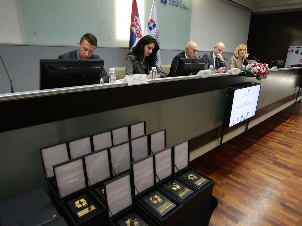 Dodeljene nagrade Privredne komore Srbije za 2017.