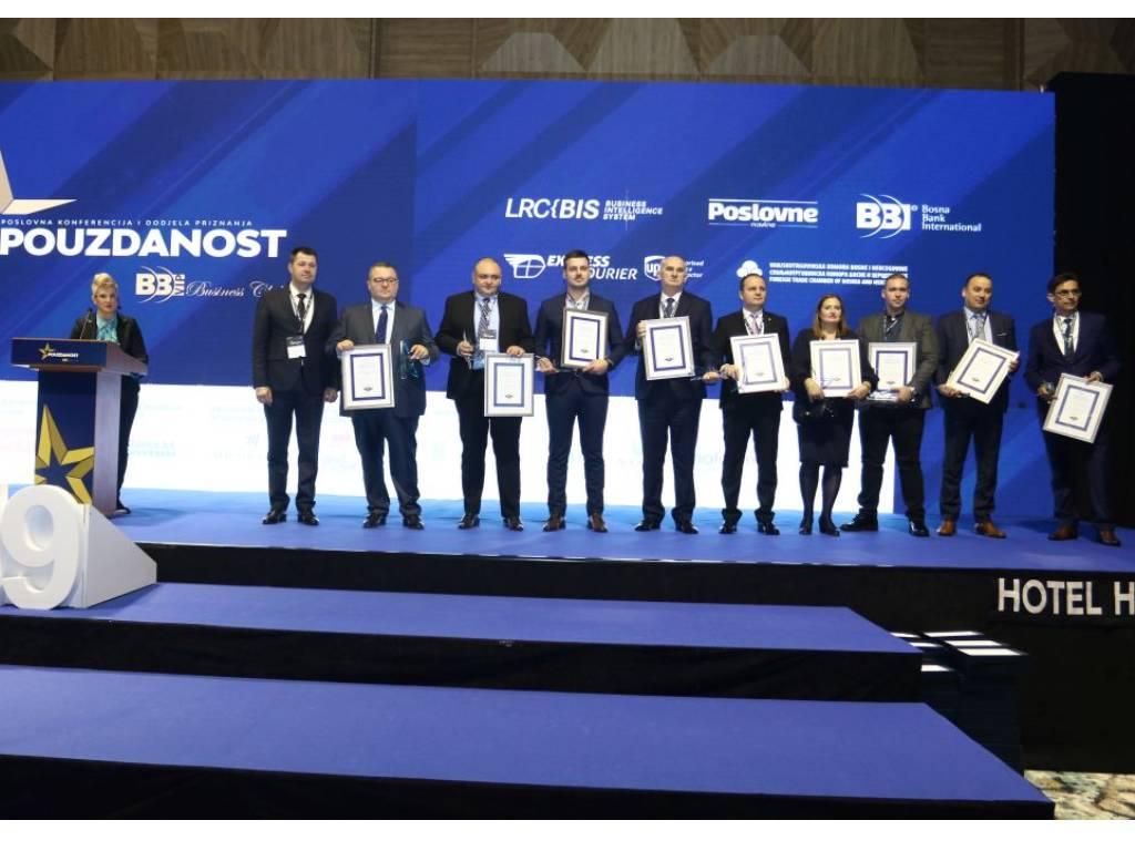 Održana poslovna konferencija Pouzdanost 2019 - Iznadprosječne rezultate zabilježilo više od 5.000 kompanija