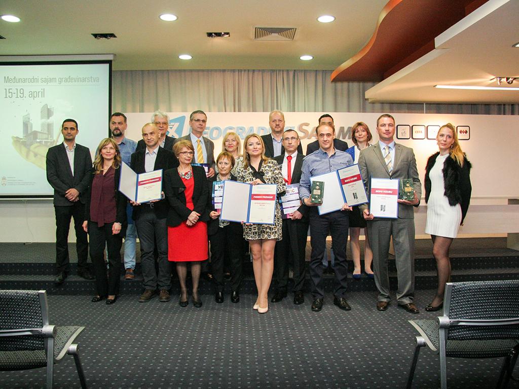 Inovativni neimari dobili nagrade na Sajmu građevinarstva