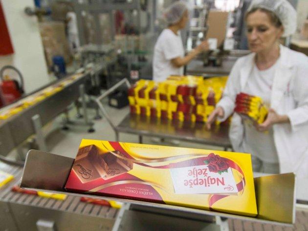 I do 30 tona Najlepših želja dnevno - Soko Štark beleži rast prodaje, nove čokolade na tržištu u 2018. (FOTO)
