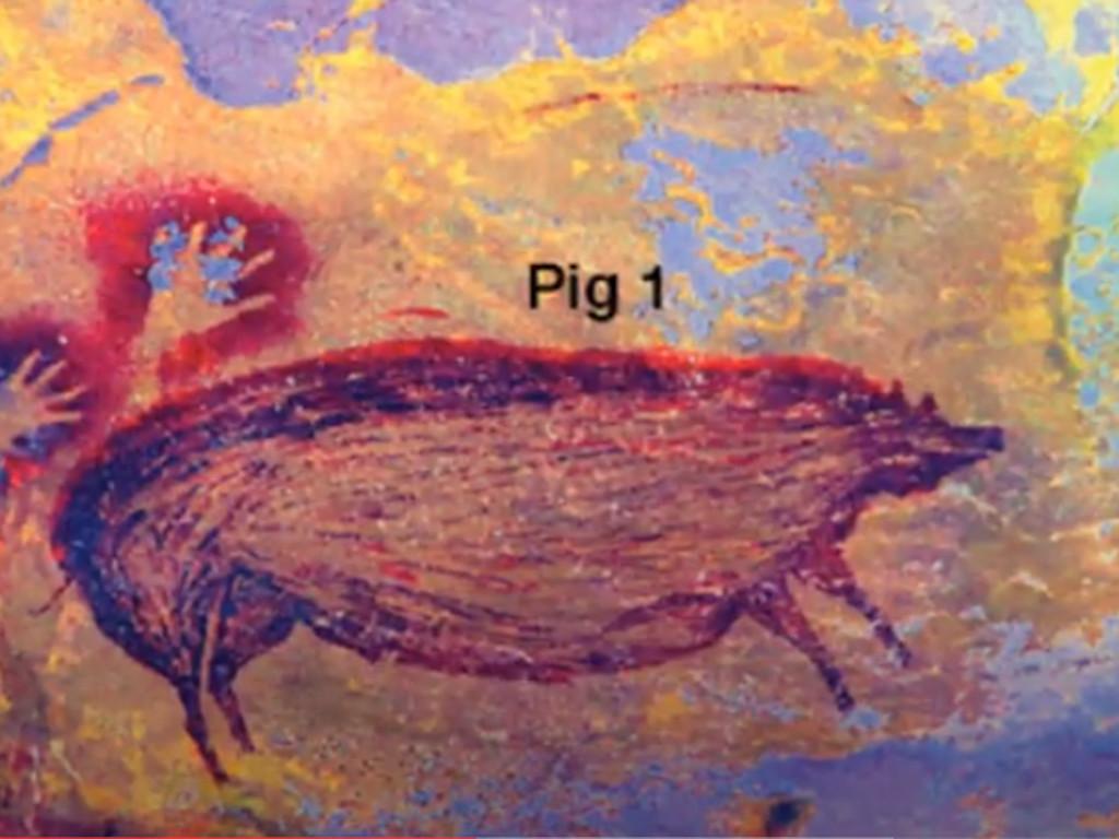 Najstarija slika na svetu prikazuje svinju