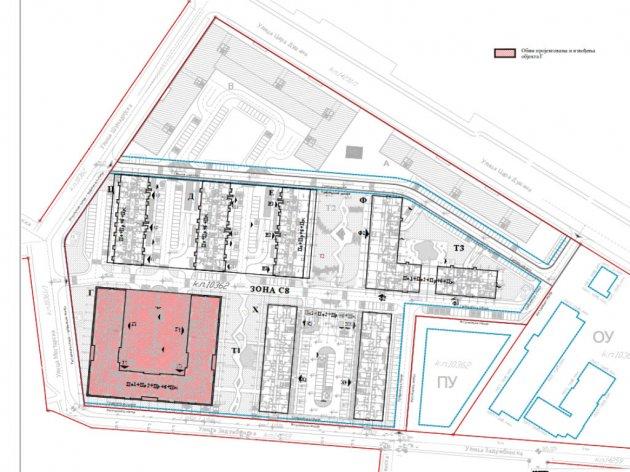Kompleks Zemunske kapije prostiraće se na oko 6 hektara