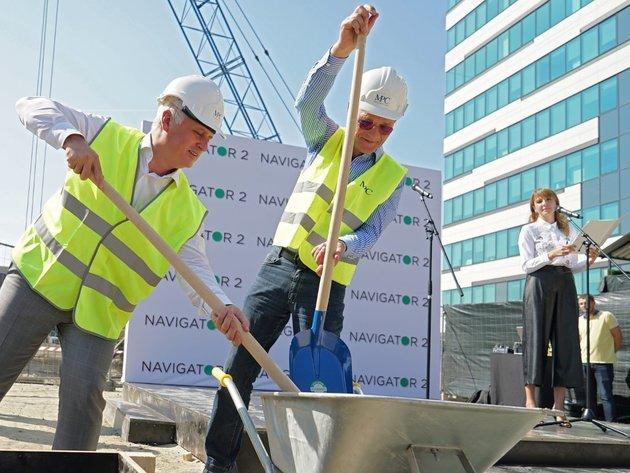 Baubeginn für Navigator Business Centar 2 in Novi Beograd - Investition im Wert von 45 Mio. EUR, Eröffnung im ersten Quartal 2020