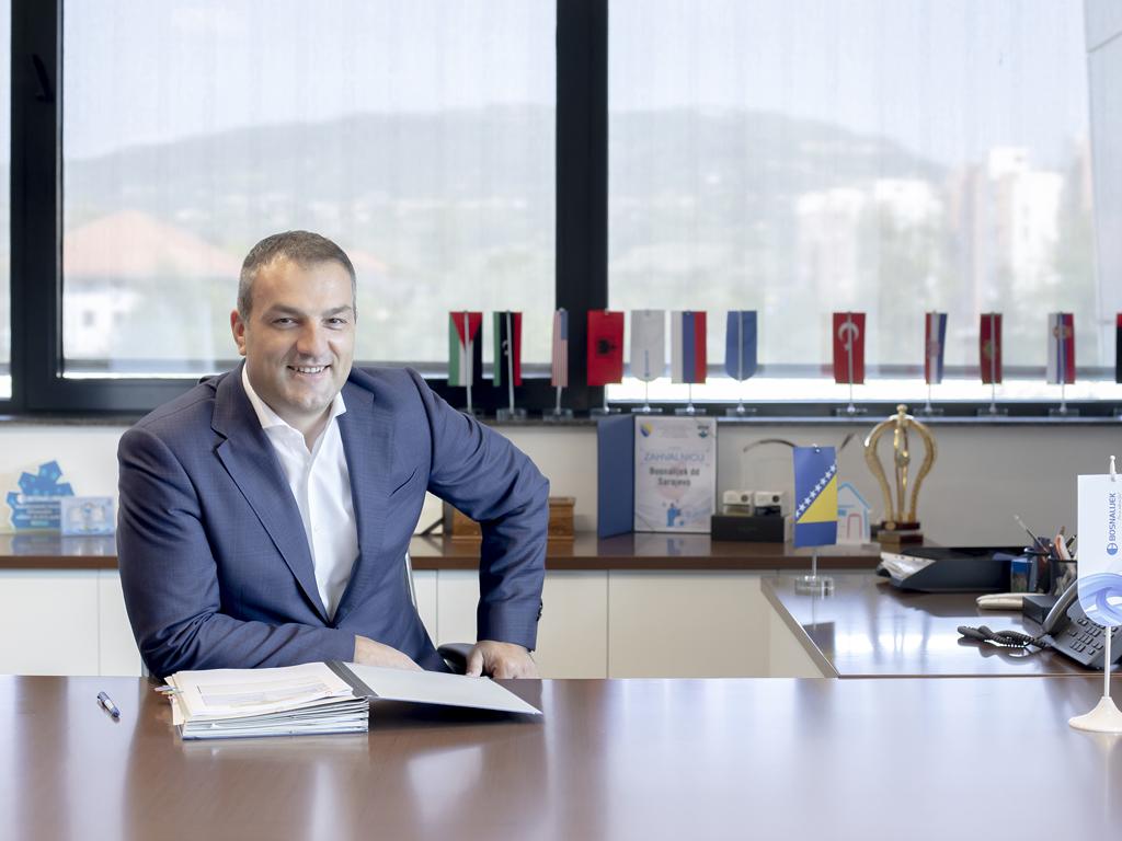 Nedim Uzunović, direktor Bosnalijeka - Imamo obećavajuće rezultate ispitivanja našeg proizvoda u indikaciji COVID-19