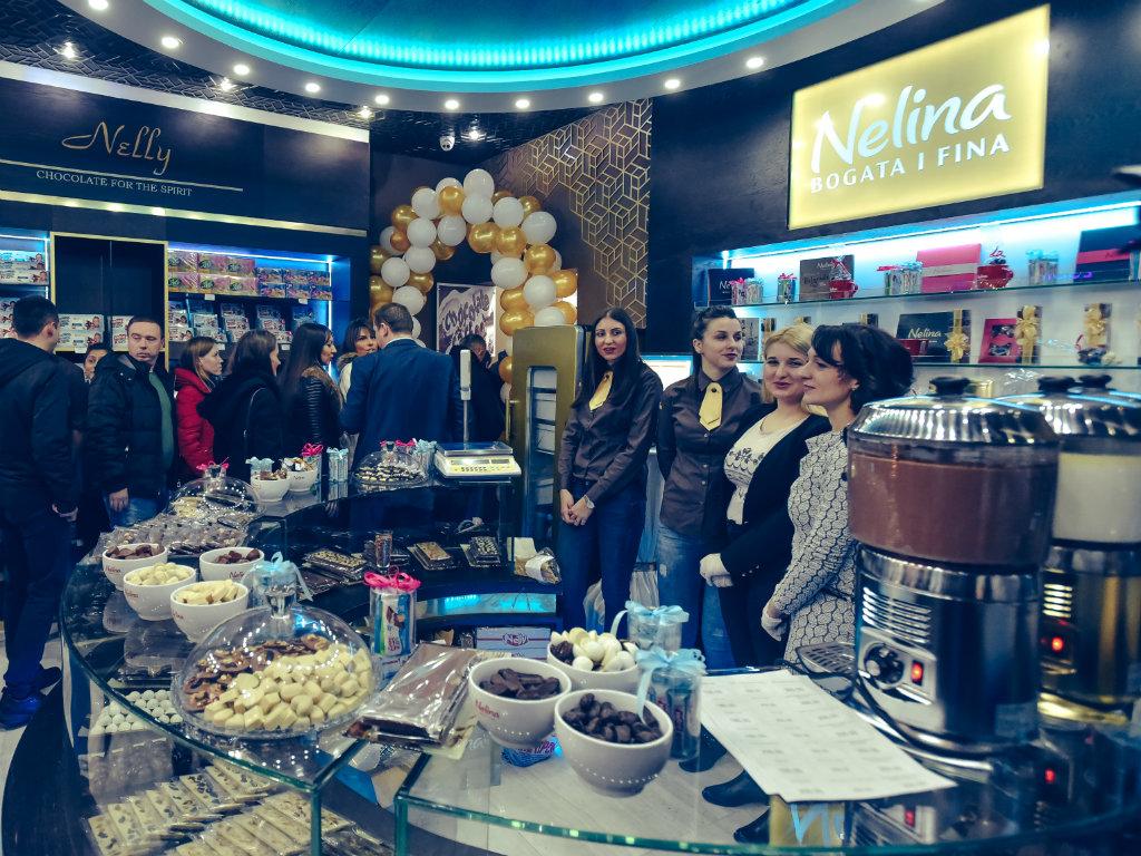 Otvorena prva Nelli čokoladna kuća u Beogradu - U planu lozničke kompanije otvaranje prodavnica i u drugim gradovima, kao i nova zapošljavanja