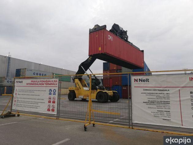 Investicijom od 2 mil EUR kompanija Nelt pojačala kapacitete svog Intermodalnog terminala (FOTO)