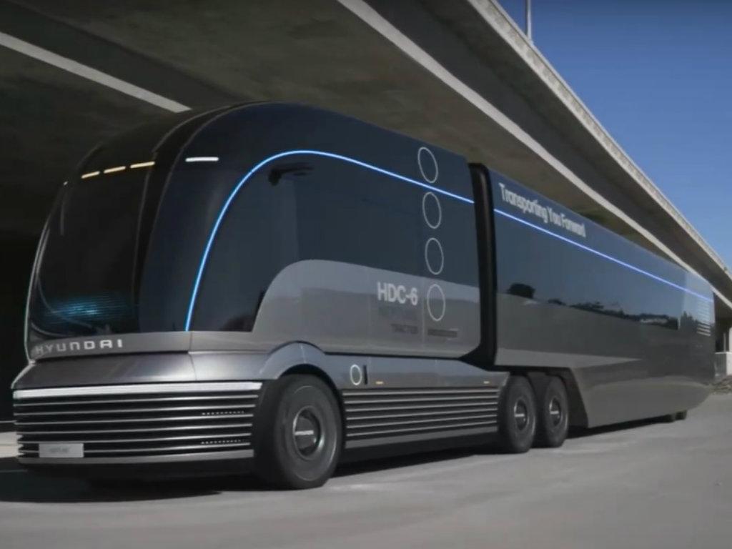 Hyundai predstavio električni kamion sa gorivim ćelijama