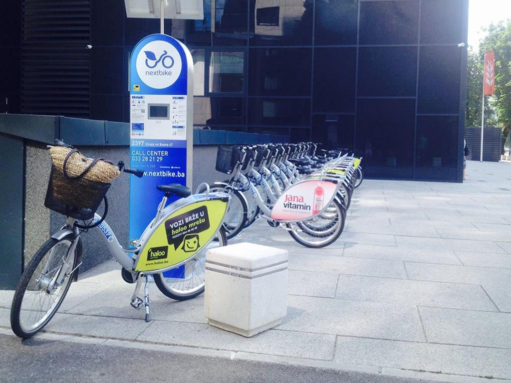 Sistem gradskih bicikala Nextbike stigao u Zenicu