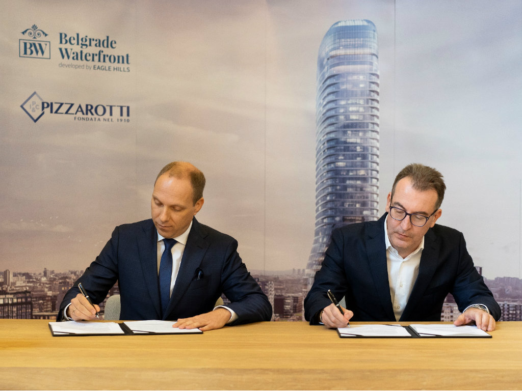 Pizzarotti main contractor for Belgrade Tower