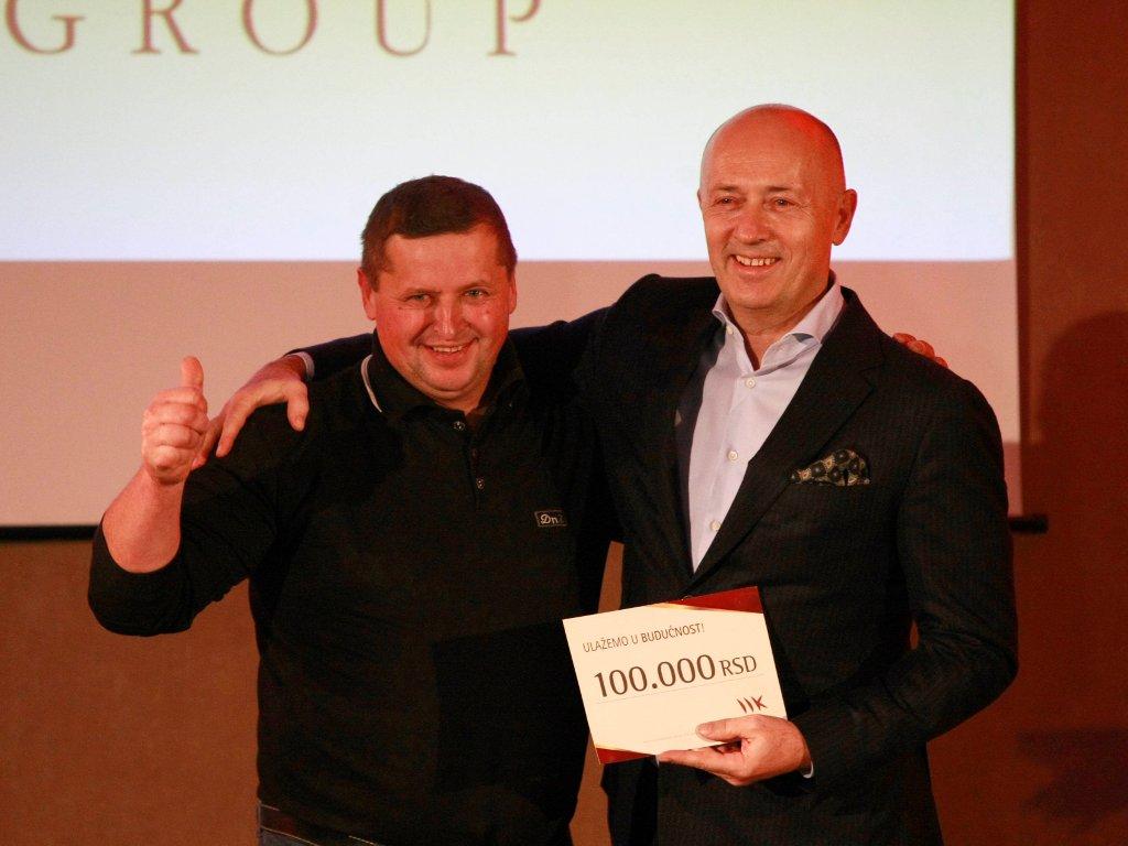 MK Group daje 8,35 miliona dinara porodicama sa troje i više dece
