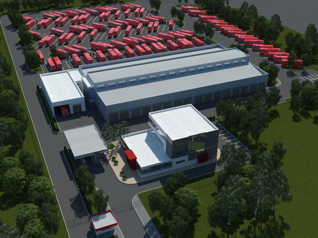 """Položen kamen temeljac za poslovni kompleks """"Niš-ekspresa"""" - Investicija vredna 4 mil EUR"""