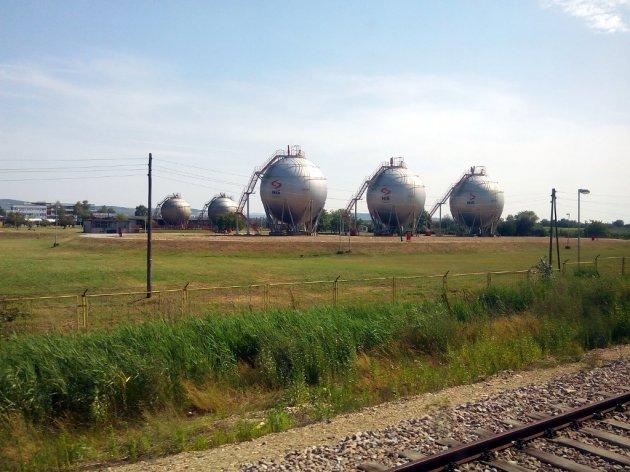 Ölraffinerie in Pancevo